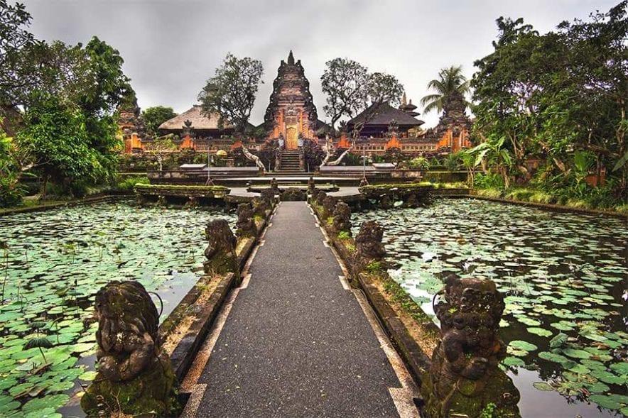 Ubud lotus temple