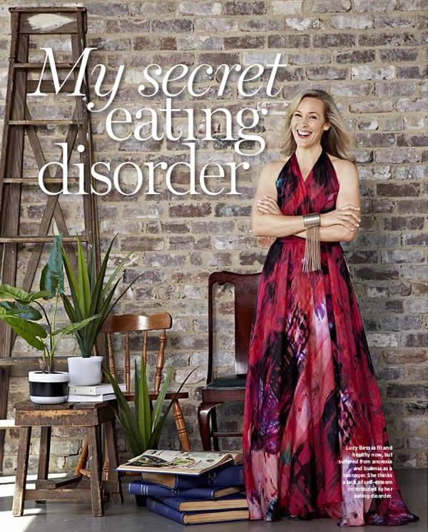 Australian Women's Weekly Magazine: 'My secret eating disorder' featuring Zoë Watson, founder of Bliss Sanctuary For Women