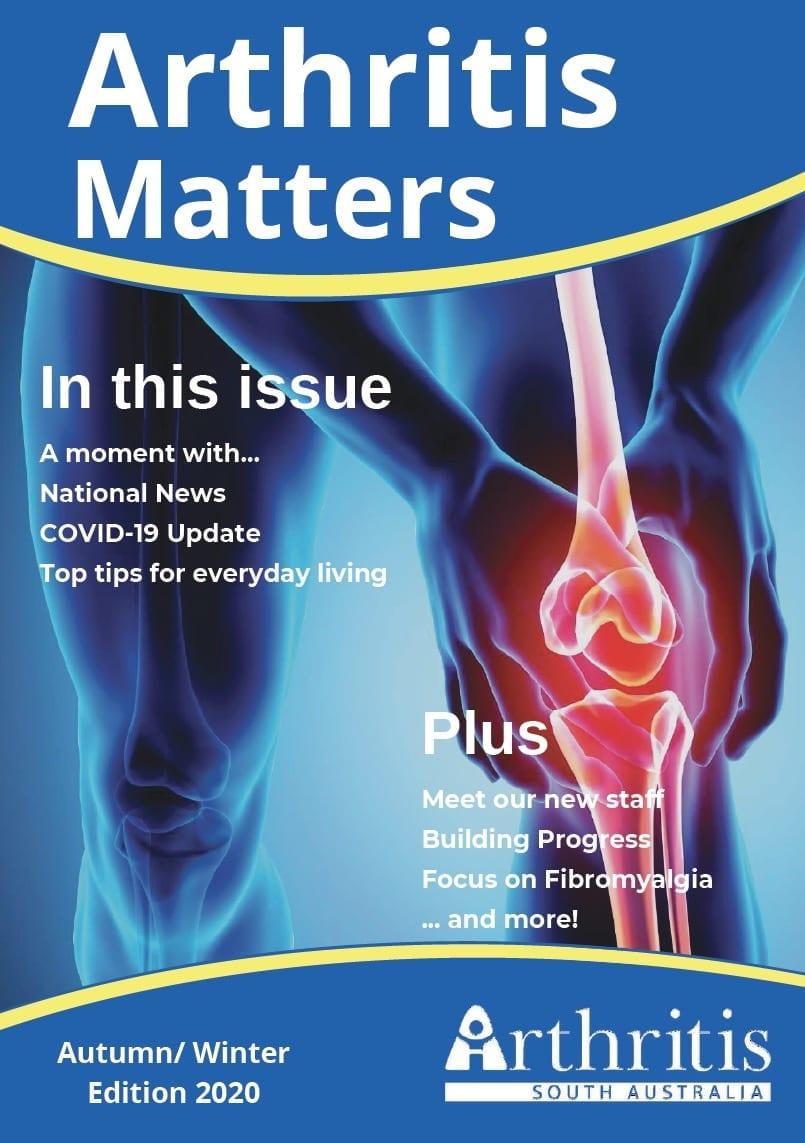 Zoe Watson fibromyalgia interview Arthritis Matters magazine cover