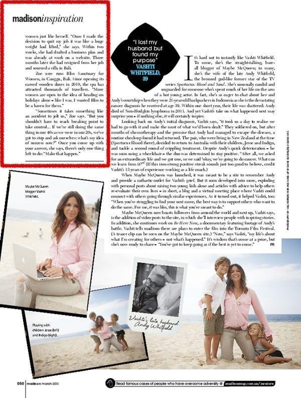 Madison Magazine: Inspiration – What Comes Next 3