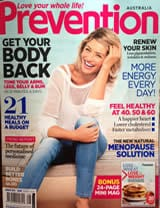 Prevention Magazine Cover Jul 13