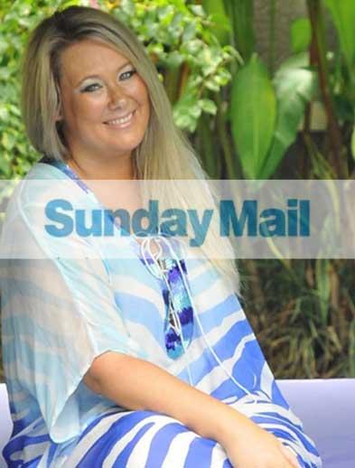 Sunday Mail Newspaper Cover Nov 13